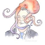 Walter Mondale Veeptopus - Art by Jonathan Crow